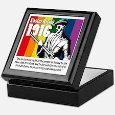 1916 Easter Rising 10x10 white Keepsake Box