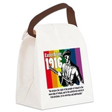 1916 Easter Rising 10x10 white Canvas Lunch Bag
