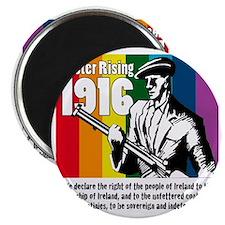 1916 Easter Rising 10x10 white Magnet