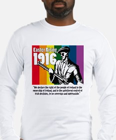 1916 Easter Rising 10x10 white Long Sleeve T-Shirt
