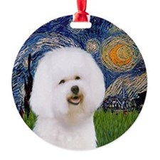 J-ORN-Starry-Bichon1 Ornament