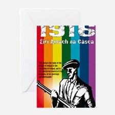 1916 Poster Greeting Card