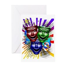 HYPER_COMEDY#9_459_ipad_case Greeting Card