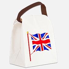 Olympic British Flag Canvas Lunch Bag