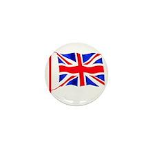 Olympic British Flag Mini Button