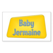 Baby Jermaine Rectangle Decal