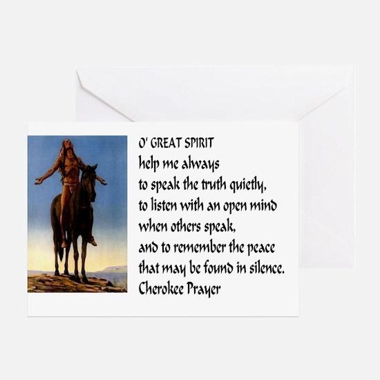 Speak Truth42x28 Greeting Card