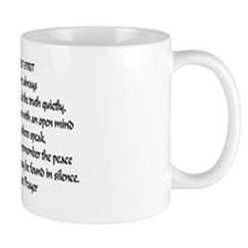 Speak Truth42x28 Mug