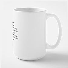 Speak Truth42x28 Large Mug