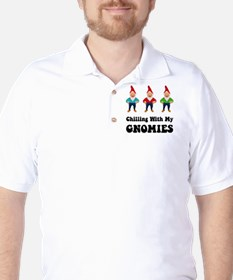 Gnomies Black T-Shirt