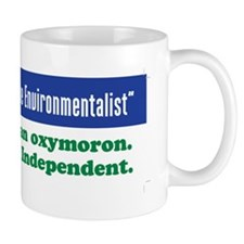 Fiscally conservative environmentalist Mug