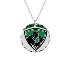 rugby player with ball Irela Necklace