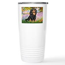 LIC-Garden-Cavalier(blk-Tan) Travel Mug