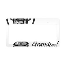 greatestgrandpatrophyBW License Plate Holder