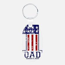 1 Dad USA B Keychains