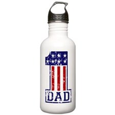 1 Dad USA B Sports Water Bottle