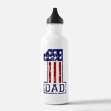 1 Dad USA B Water Bottle