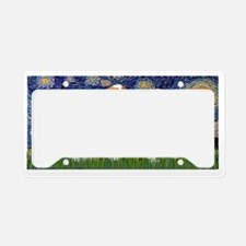 LIC-Starry-TwoCavaliers(BL+Tr License Plate Holder