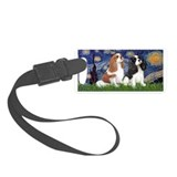King charles cavalier Luggage Tags