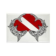 tattoo 001 copy Rectangle Magnet