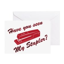haveyouseenmystapler Greeting Card