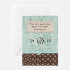 inspirationaljournal1 Greeting Card