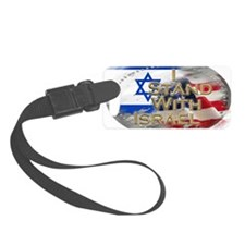 I stand with Israel Luggage Tag