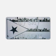 CHI RICAN Aluminum License Plate