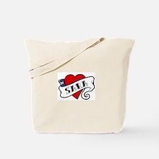 Sara tattoo Tote Bag