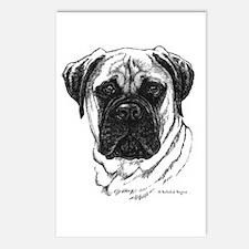 Bullmastiff Postcards (Package of 8)