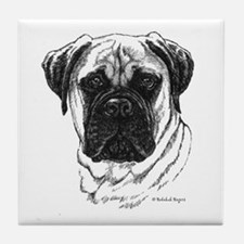 Bullmastiff Tile Coaster