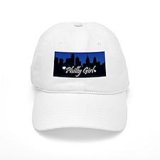 phillygirl-skyline-sticker Baseball Cap