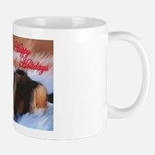 Happy Holidays Collie Mug