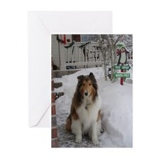 Toy Shop/North Pole Greeting Cards (Pk of 10)