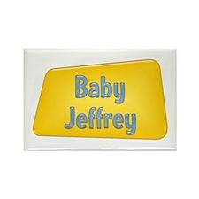 Baby Jeffrey Rectangle Magnet