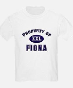Property of fiona Kids T-Shirt