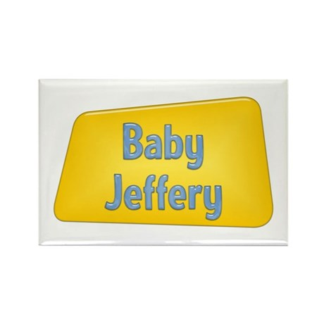 Baby Jeffery Rectangle Magnet (10 pack)