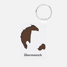 Ubermencshe300Black Keychains