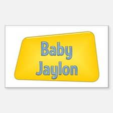 Baby Jaylon Rectangle Decal