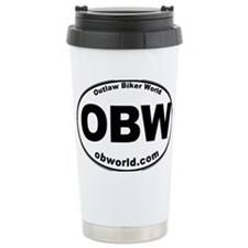 Outlaw Biker World Travel Mug