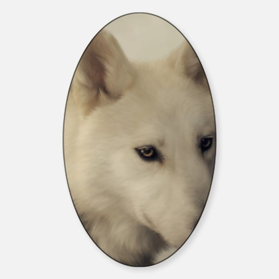 wolfs_soul Sticker (Oval)
