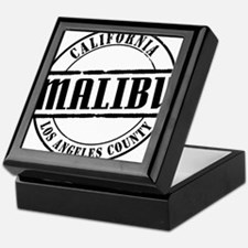 Malibu Title W Keepsake Box