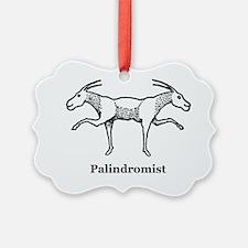 Palindromist Ornament