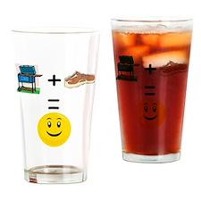 Grill math Drinking Glass