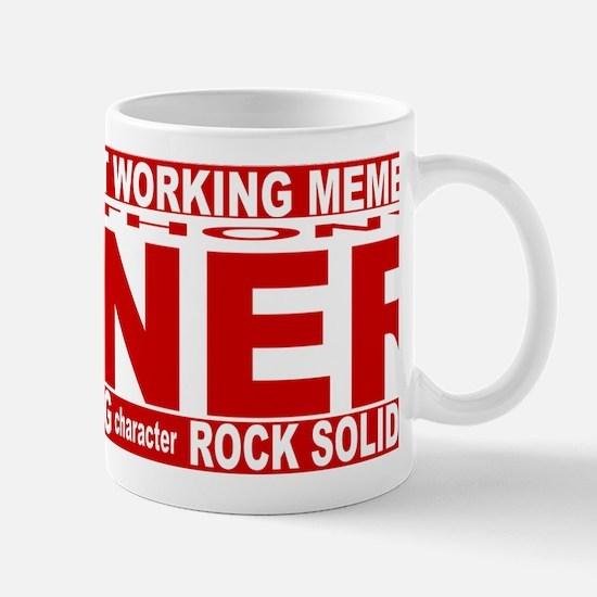 weiner red long Mug