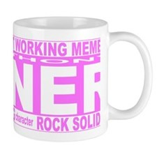 weiner pink long Mug