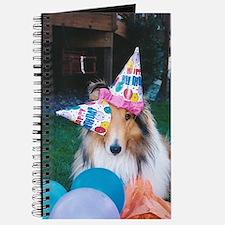 Birthday hats Collie Journal