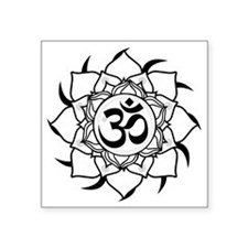 "aum-forcolorbg Square Sticker 3"" x 3"""