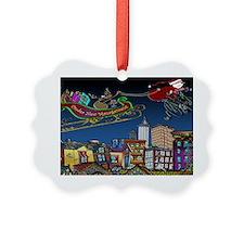 7829_Christmas_cartoon_wide Ornament