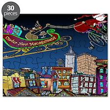 7829_Christmas_cartoon_wide Puzzle